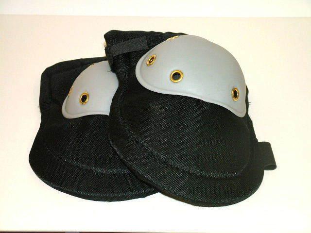 INDUSTRIAL STRENGTH HEAVY DUTY KNEE PADS HARD SEWN CAP DIY WORK KNEE PROTECTION