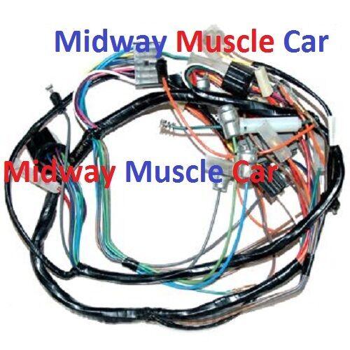 57 chevy dash wiring harness deluxe w radio heater ebay rh ebay com