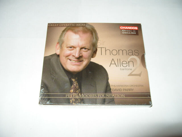 Thomas Allen Great Operatic Arias, Vol. 2 (2008) cd + thick booklet New & Sealed
