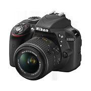 Nikon D3300 with AF-P DX 18-55mm f/3.5-5.6G VR + ...