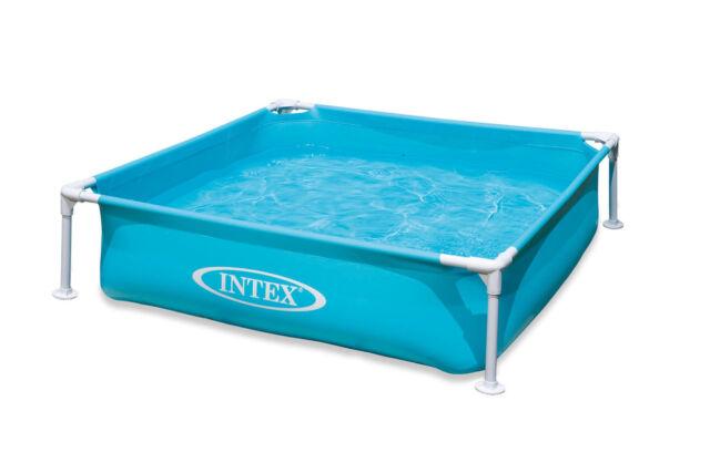 Intex Mini Frame Kids 48 X 12 Beginner Kiddie Swimming Pool