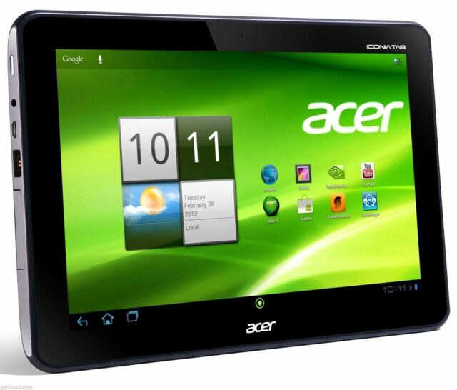 Acer Iconia A200 - 16GB, Wi-Fi, 10.1in - Titanium Gray