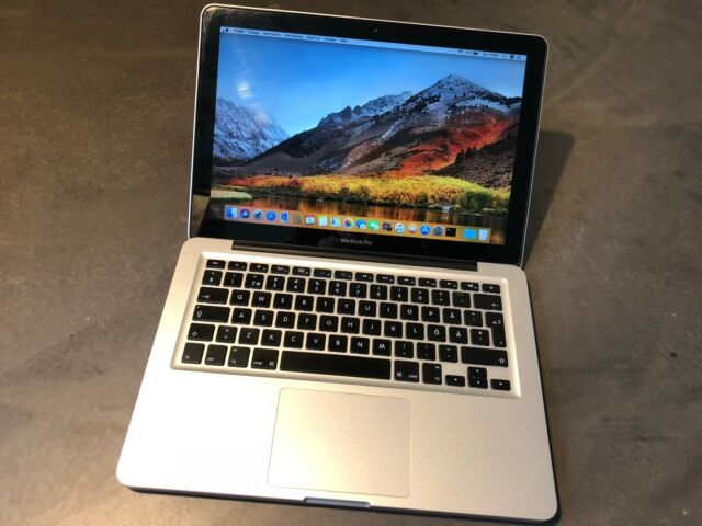 Apple MacBook PRO 13 Core i5 2.4 4GB RAM 500GB HDD High Sierra A1278