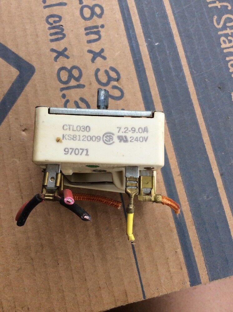 ge oven infinite range switch ks812009 ebay rh ebay com
