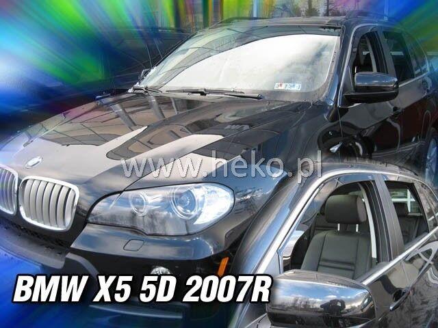 HEKO Windabweiser BMW X5 E70 5-türer ab 2007 4-tlg Regenabweiser 11140