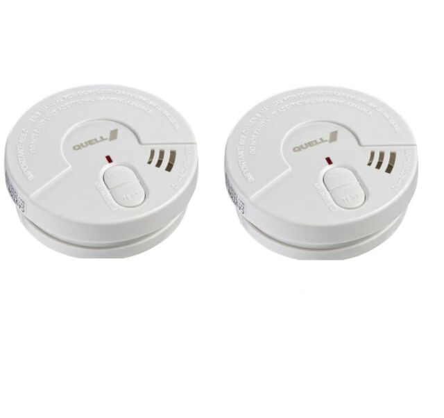 Quell 9V Ionisation Smoke Alarm for TWO  *FREE SHIPPING*