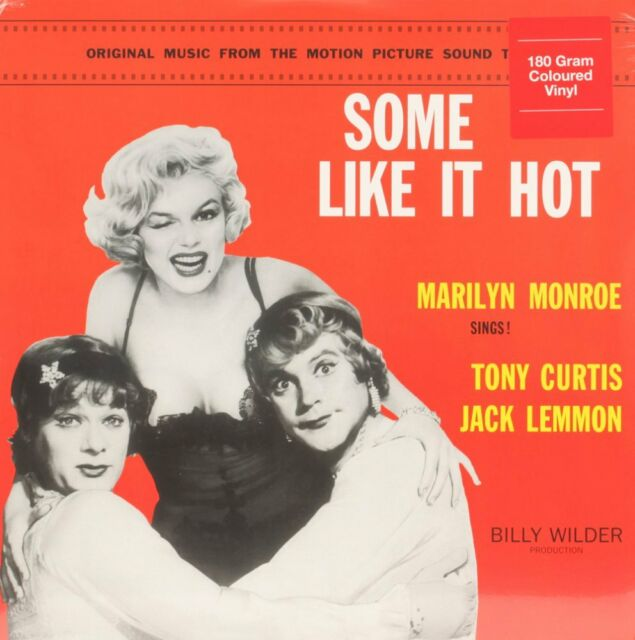 Some Like It Hot  VARIOUS Vinyl Record