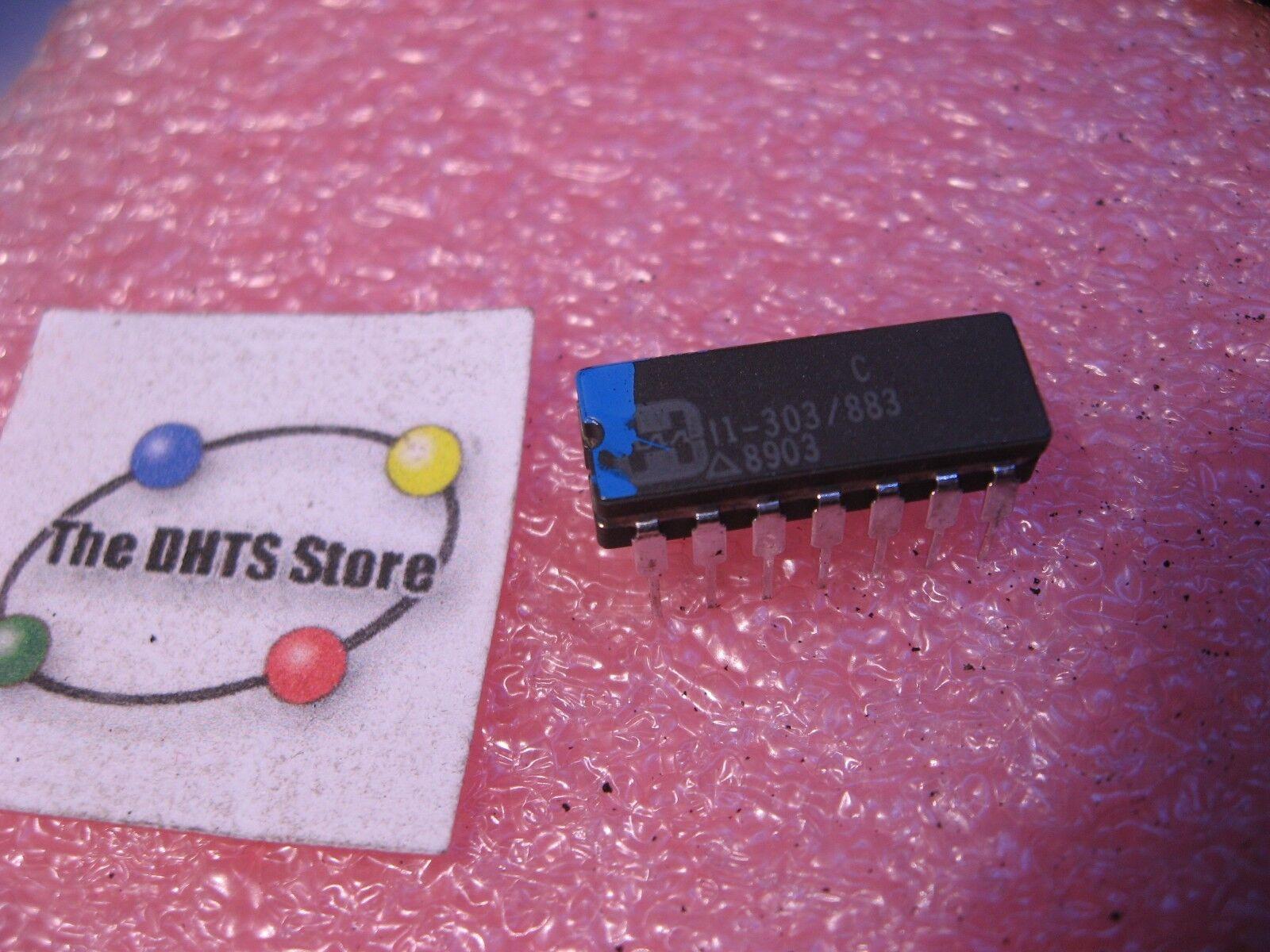 Hi 5051 8 Harris Dual Analog Switch Ic Spdt Ceramic Nos Ebay Lm358 358 Operational Amplifiers Dip8 Integrated Circuit