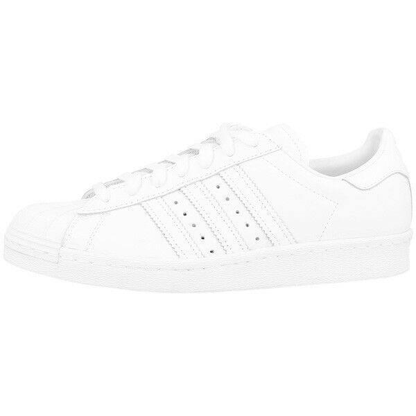 ADIDAS Superstar 80s Scarpe Retro Sneaker White Black s79443 Samba Speciale