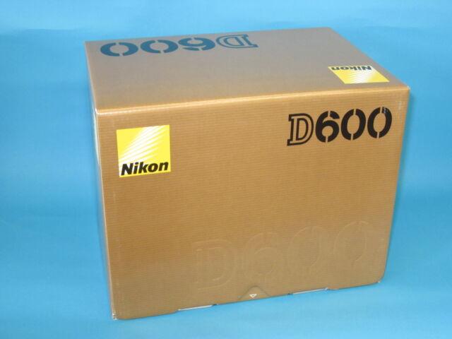 New Nikon D600 24.3MP Digital SLR Camera - Black (Body Only) with Nikon Warranty