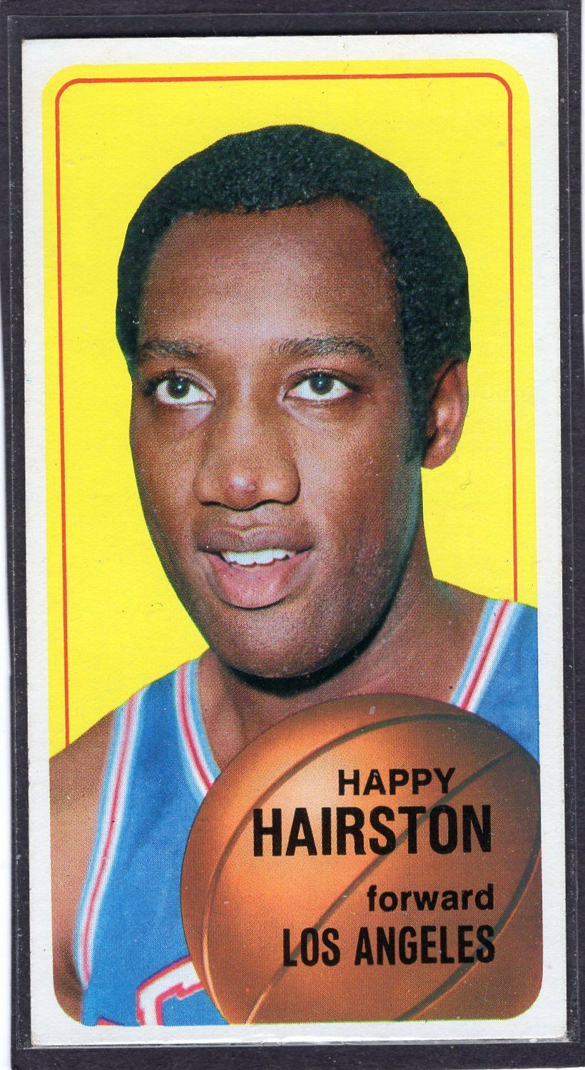 1970 Topps Happy Hairston 77 Basketball Card