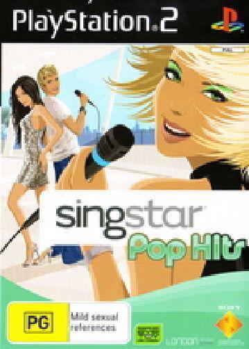 SINGSTAR POP HITS SING STAR PLAYSTATION 2 *NEW* AUS EXPRESS
