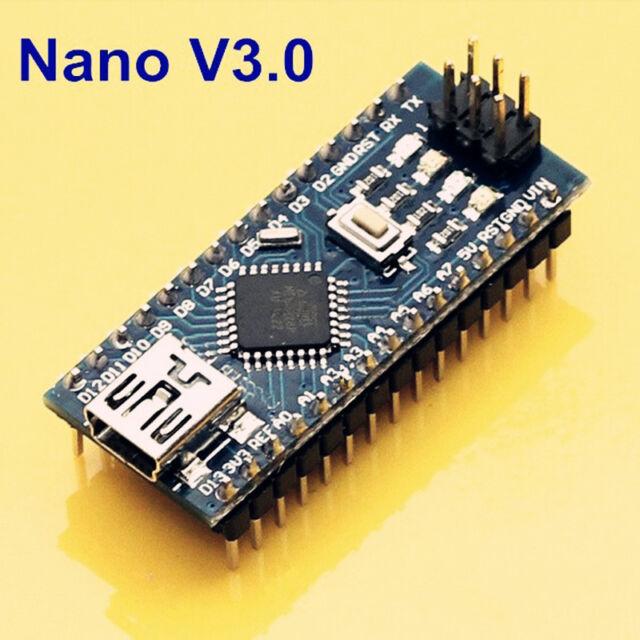 Nuevo Nano V3 Atmega328p 5v 16m Soldado Board Arduino Reino Unido Stock
