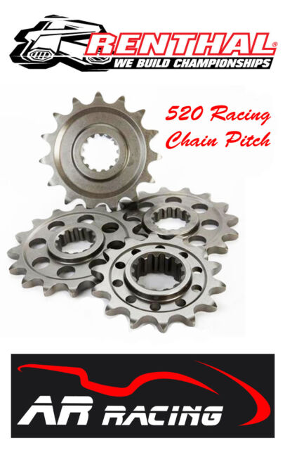 Renthal 14 T Front Sprocket 433-520-14 to fit Ducati 996R / 998 / 998S 520 Pitch