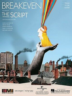 Breakeven Song By The Script Piano Vocal Sheet Music Guitar Chords