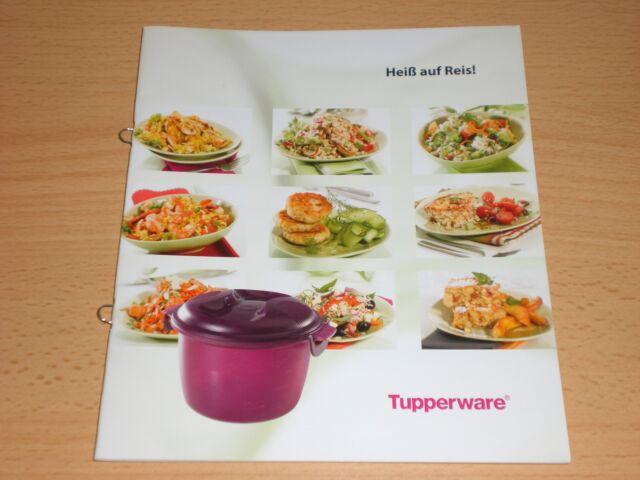 Tupper Tupperware Rezeptheft Kochbuch Rezepte Rarität Heiß auf Reis Reismeister