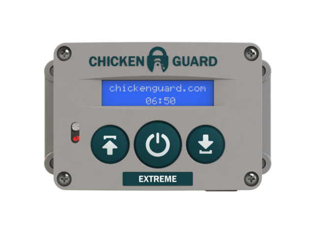ASTX Extreme Automatic Chicken Coop Pop Door Opener by Chickenguard Poultry Habi & ASTX Extreme Automatic Chicken Coop Pop Door Opener by Chickenguard ...
