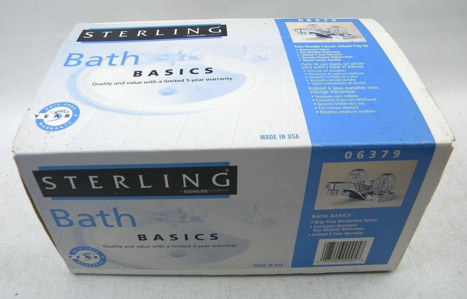 Sterling a Kohler Company Bath Basics Twin Handle Faucet Without ...