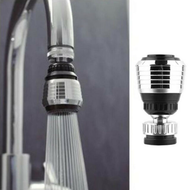Water Faucet Aerator Assembly. Sink Water Faucet Tip Swivel Nozzle Adapter Kitchen Aerator Tap Chrome  Connector