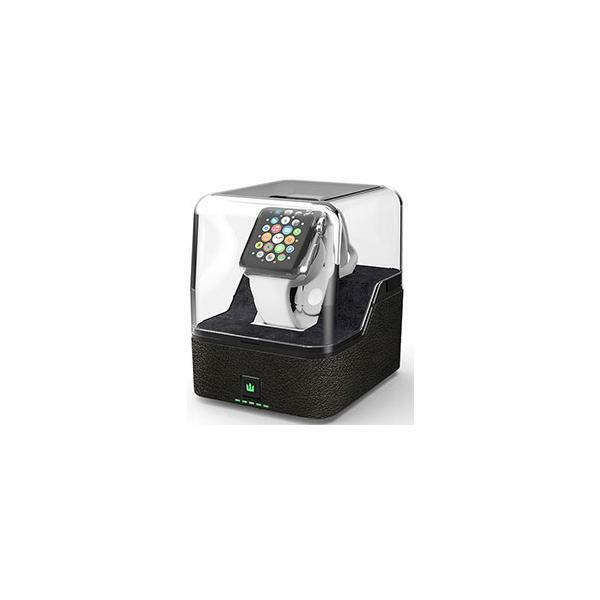 Trident ODAPWATC/BKVA Valet Dual Portable Charging Pedestal For Apple Watch New