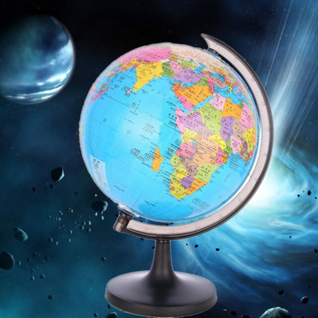 Kids world globe map with swivel stand geography tellurion study kids world globe map with swivel stand geography tellurion study educational toy gumiabroncs Image collections