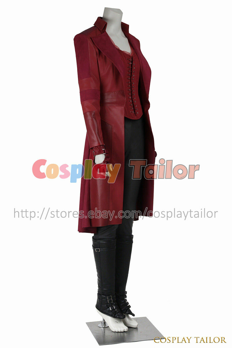 Captain America 3 Civil War Wanda Maximoff Scarlet Witch Red ...