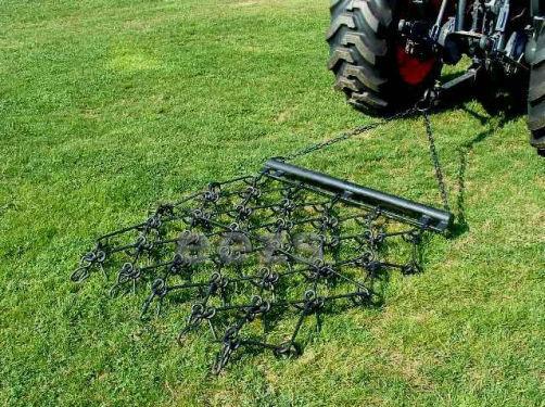 Drag Harrow Tines : V drag chain harrow lawn landscape arena atv rake ebay
