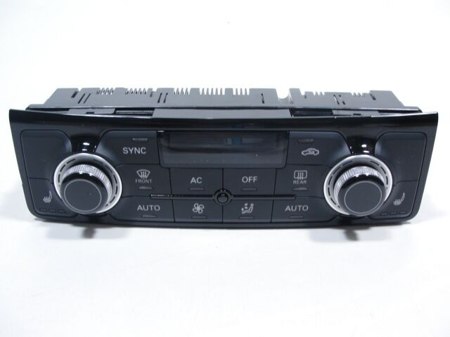 Audi A8 S8 4H Klimabedienteil Klimaanlage bedienteil Klimabetätigung 4H0820043G