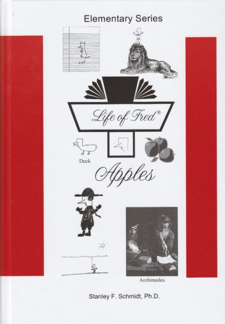Life of Fred Apples-NEW