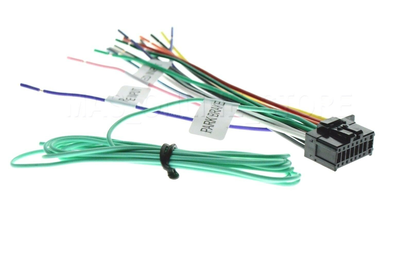 s l1600 wire harness for pioneer avhx391bhs avh x391bhs *pay today ships Wiring Harness Diagram at bayanpartner.co