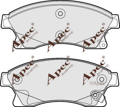 FRONT BRAKE PADS FOR VAUXHALL ASTRA GENUINE APEC PAD1771