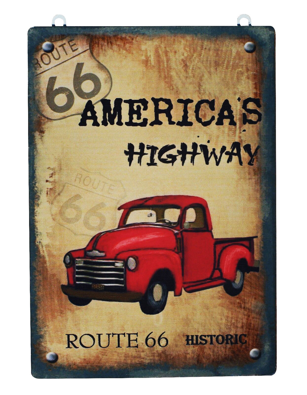 America\'s Highway Route 66 Metal Sign | eBay