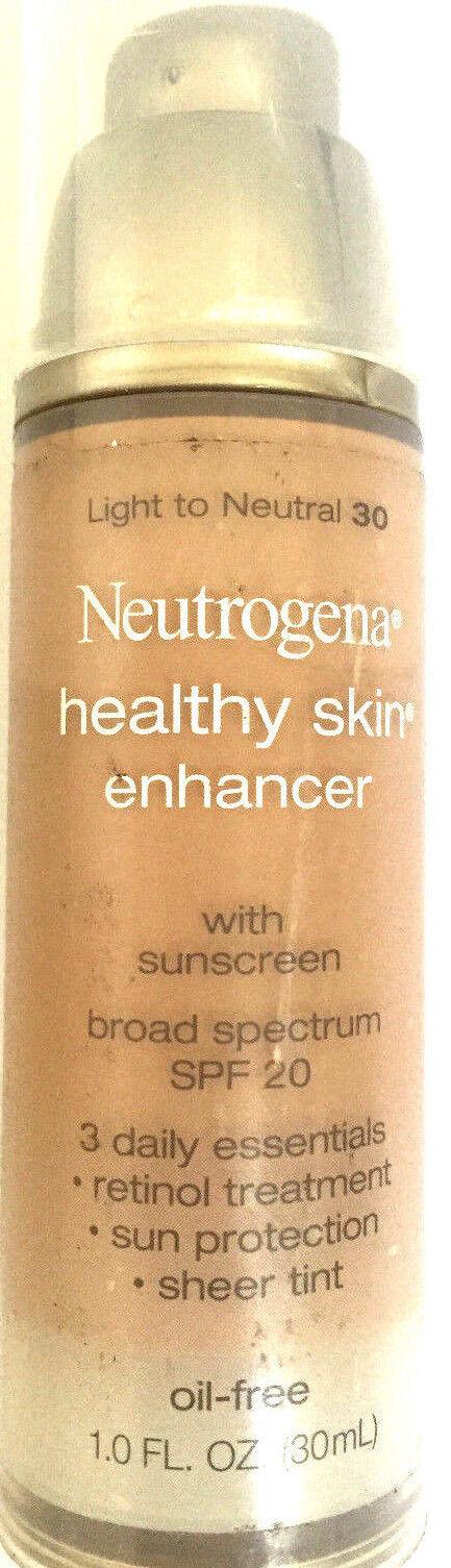 Healthy Skin Enhancer Broad Spectrum SPF 20 by Neutrogena #10