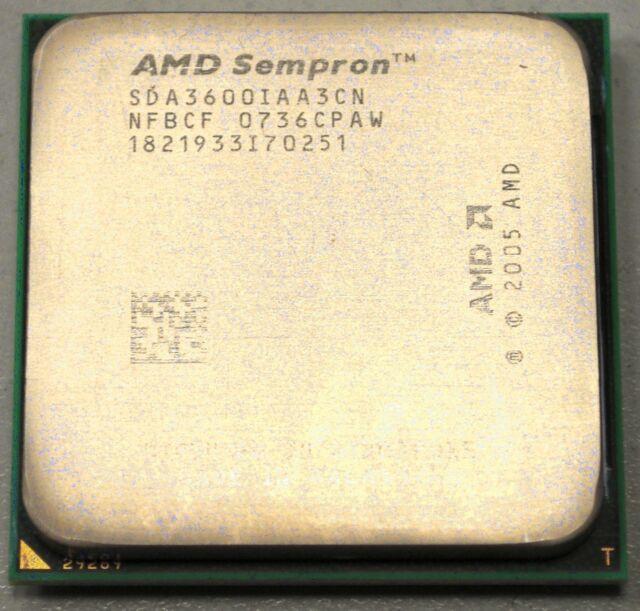 AMD Sempron 3600+ 2,0GHz, 64bit Sockel AM2 SDA3600IAA3CN