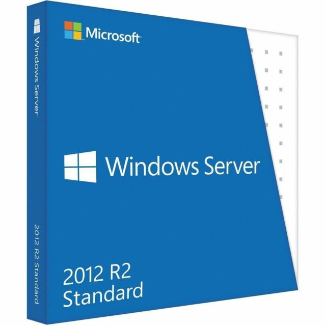 Microsoft Windows Server 2012 R2 Standard | Vollversion | Blitzversand