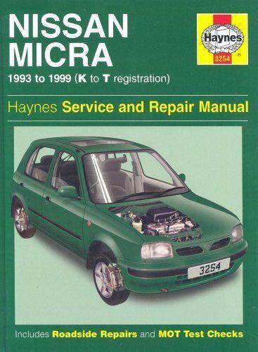 Nissan Micra (1993-99) Service and Repair Manual (Haynes Service and Repair Ma,