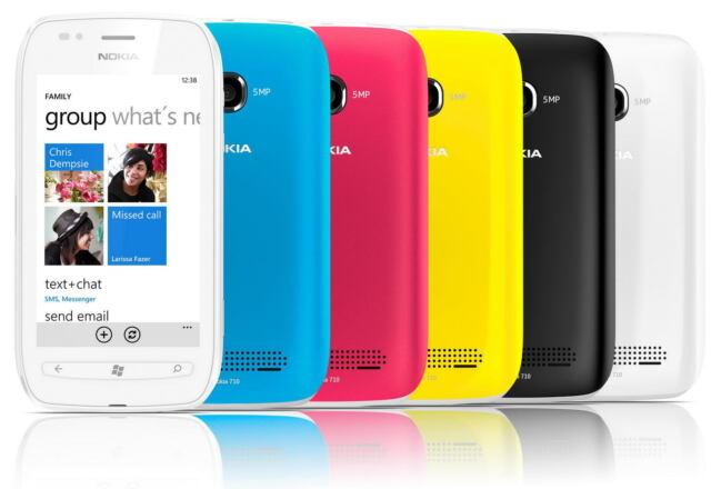 Nokia Lumia 710 - 8GB - T-Mobile TelCel IUSACell Smartphone
