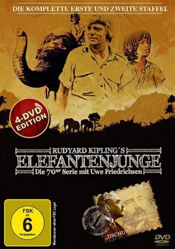 Elefantenjunge - 1 und 2 Staffel komplett  - 4 DVD´s - NEU & OVP