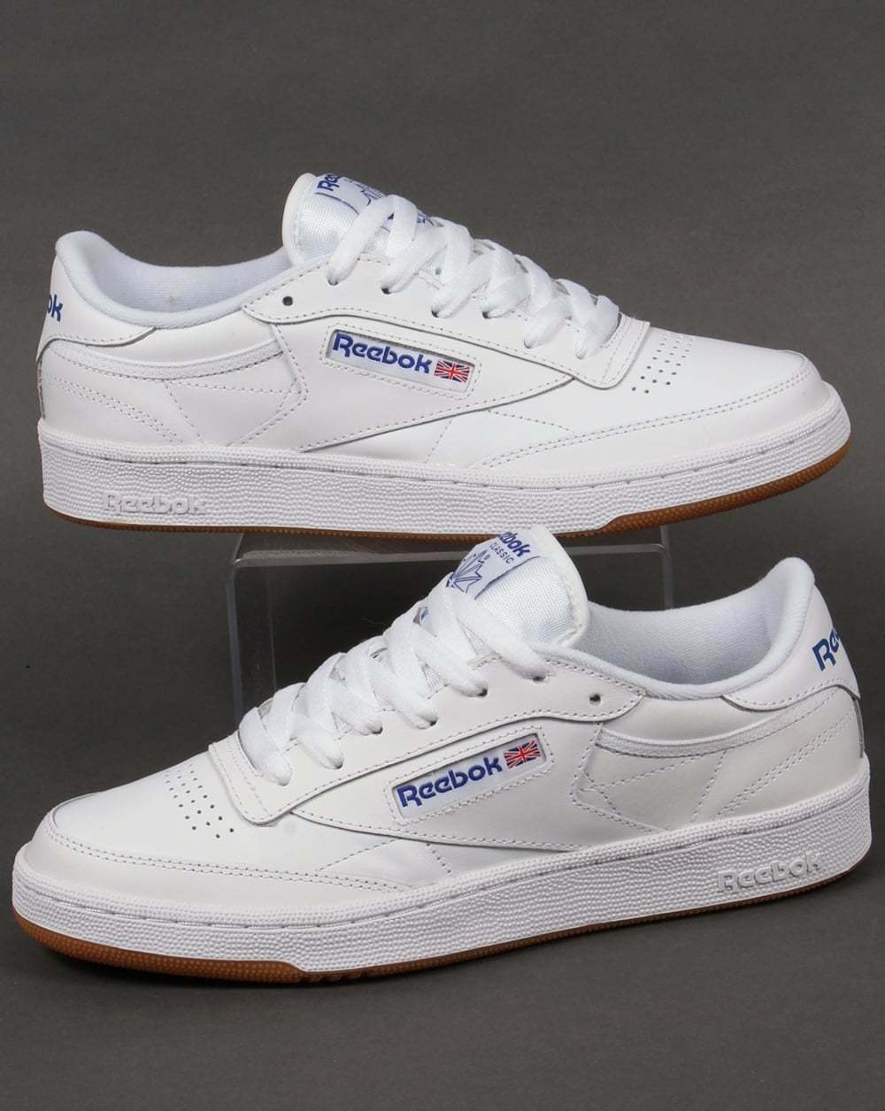 330a50aa934f34 Men s Reebok Club C 85 Low Rise Trainers in White UK 9   EU 43 for ...