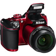 Nikon Coolpix B500 (Red) 16MP Digital Camera with...