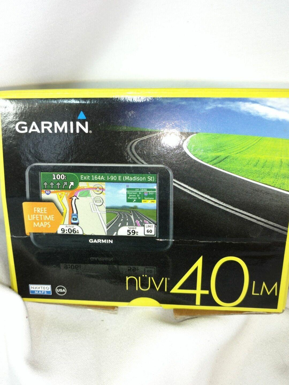 Garmin Nuvi LM Inch Portable GPS Navigator Lifetime Maps EBay - Best garmin lm models us maps