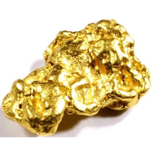 .100 Grams Alaskan Yukon BC Natural Pure Gold Nugget Hand
