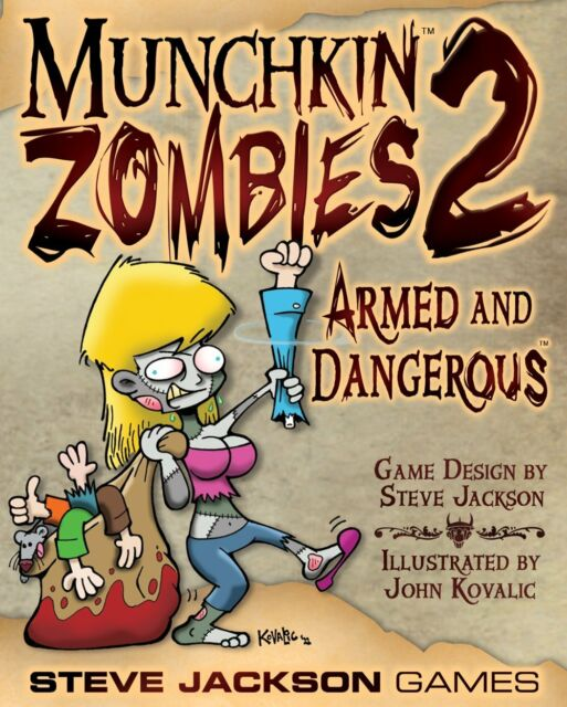 Munchkin Zombies 2: Armed and Dangerous NEW