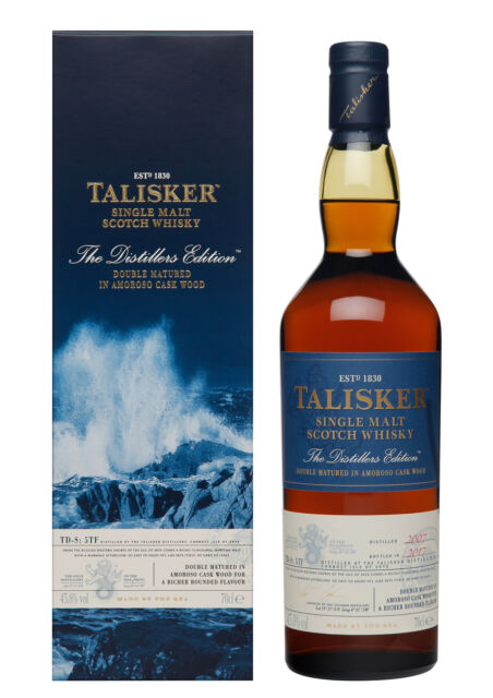 Talisker Distillers Edition 2007 / 2017 45,8% 0,7l