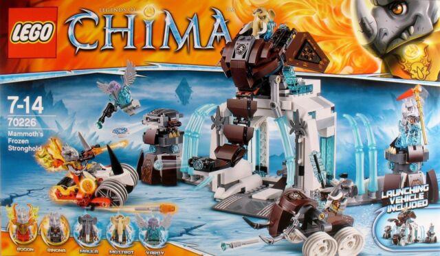 LEGO ® 70226 Legends of CHIMA Die Eisfestung des Mammuts  NEU/OVP
