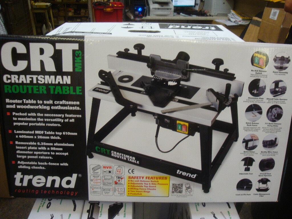 Trend crtmk3 craftsman router table mk3 240v ebay resntentobalflowflowcomponentncel greentooth Image collections