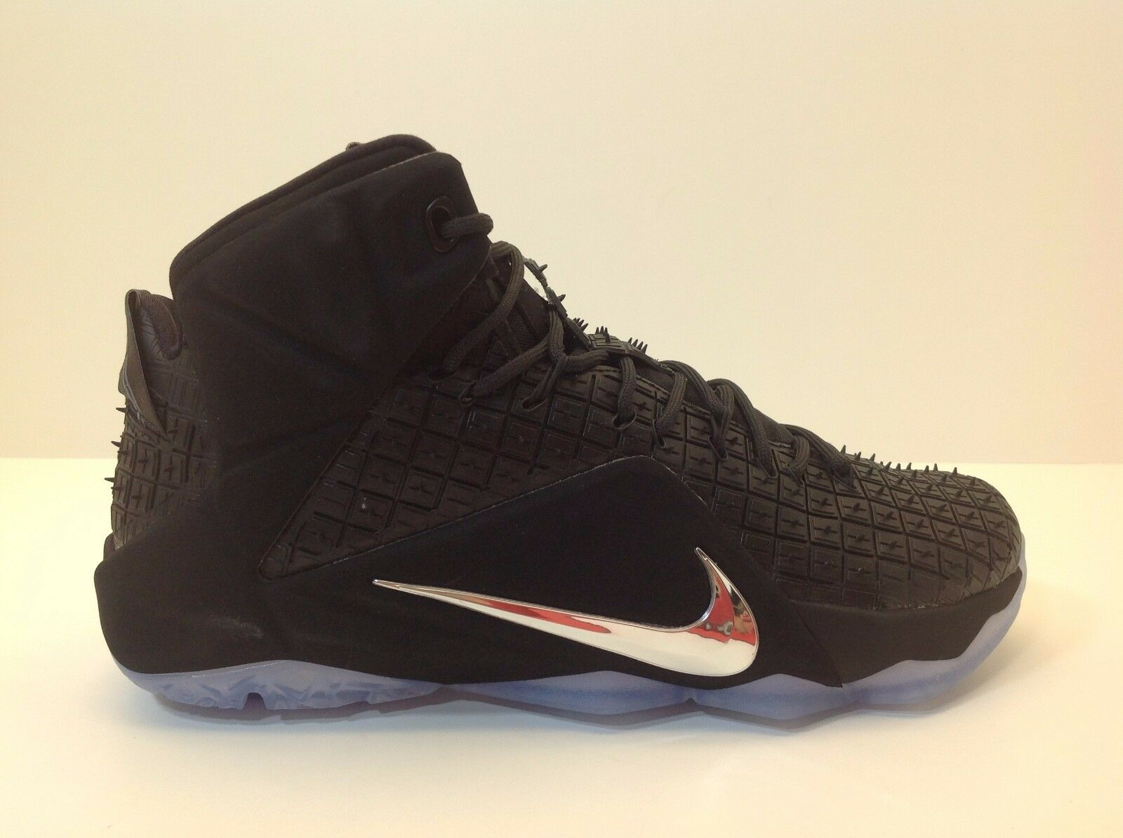 Nike Lebron XII EXT RC QS Men's Size 9 and 9.5 Shoes New in Box Black 744286 001
