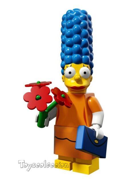 LEGO MINIFIGURES SERIE THE SIMPSONS 2 - MINIFIGURA MARGE 71009 - ORIGINAL MINIF