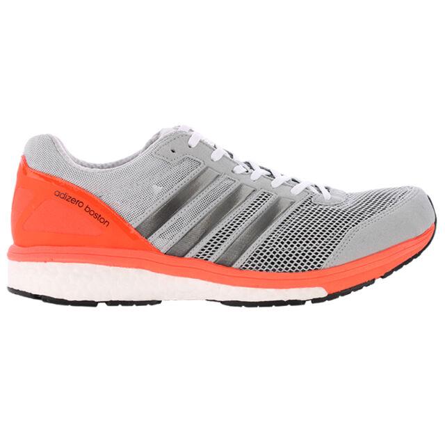 New Adidas Adizero Boston Boost 5 m Mens Grey S78211 Size 8 Running Shoes