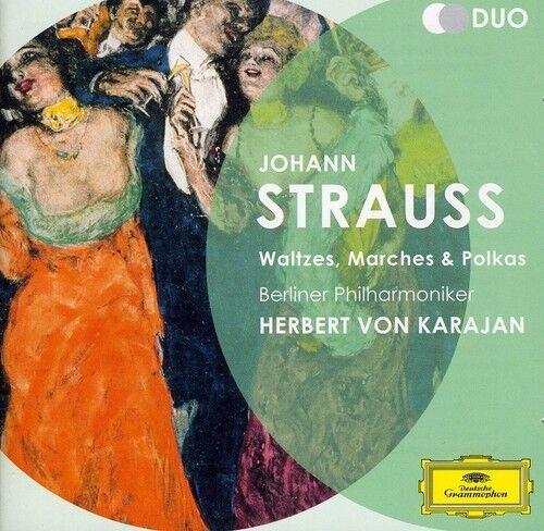 Strauss II. J.: Waltzes Marches & Polkas [New CD] UK - Import